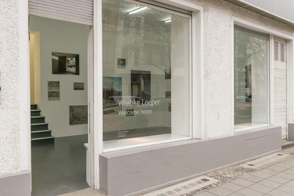 Welcome home, Blick in die Ausstellung, Foto Wiebke Loeper