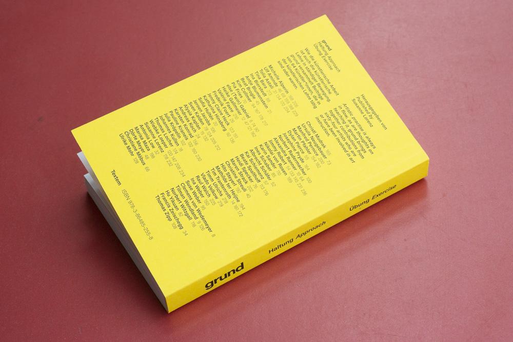 Abb. grund, herausgegeben von Susanne Lorenz, Verlag Publisher, Texten Verlag, Hamburg 2021, 9,5x14,5 cm, ISBN 978-3-86485-255-8
